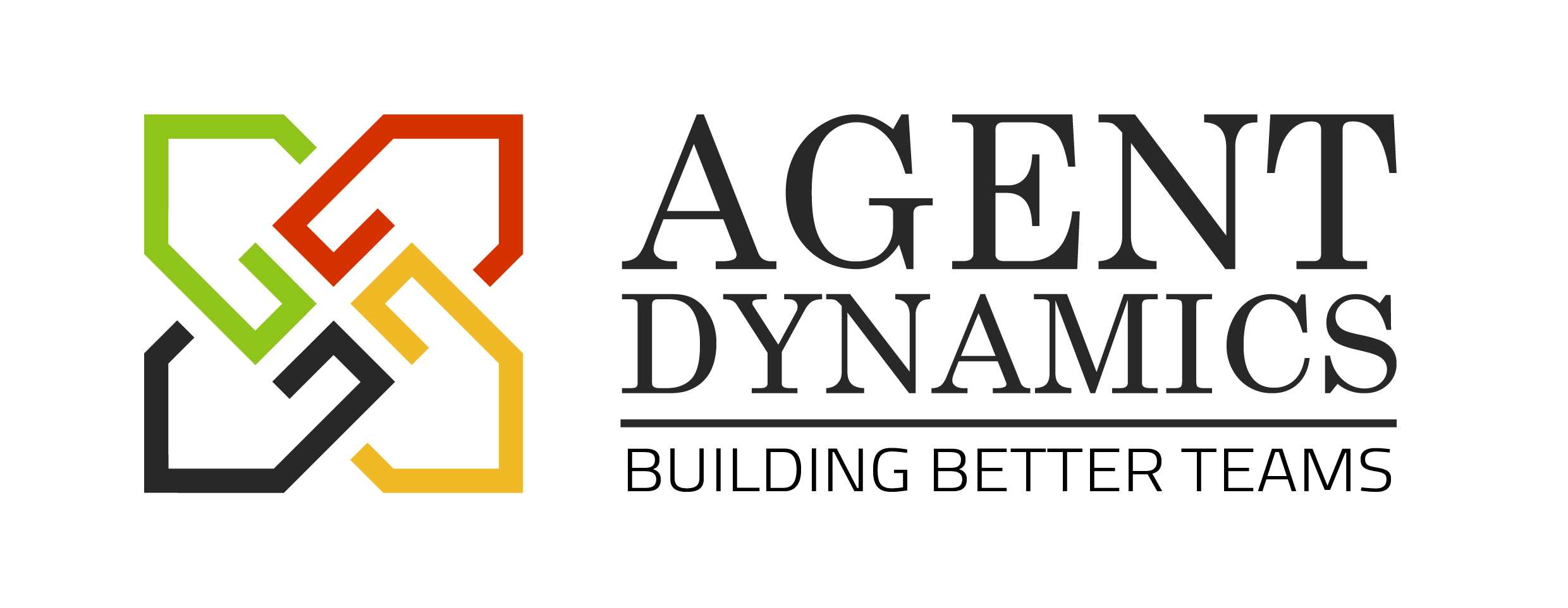 Agent Dynamics Logo with Tagline for website
